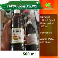 Pupuk Urine Kelinci Fermentasi 500 ml Cap Berkah