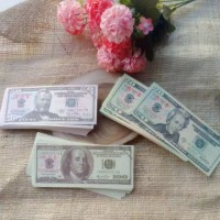 uang mainan dollar Amerika bahan mahar nikah dan craft aksesoris mahar