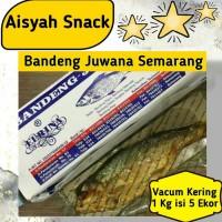 Bandeng Presto Juwana Khas Semarang Vacuum Kering 1 kg isi 5 ekor