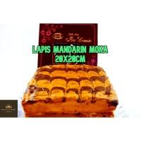 Lapis Mandarin Moka / Mocca Cake PREMIUM / Kue Lebaran Arisan & Natal