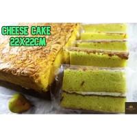 Cheese Cake 20x20cm / Kue Keju PREMIUM / Kue Harum dan Lembut