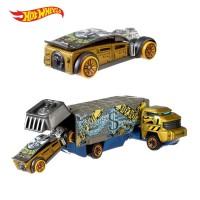 Promo!!!! Hot Wheels Super Rigs Bank Roller - Mainan Mobil Balap
