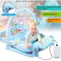 Tseloop-M15-16 Baby Play Gym Mainan Anak Bayi Rattle & Piano Playmat