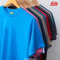 PROMO - Kaos Polos Pendek Distro Katun Combed Premium Misty - Unisex