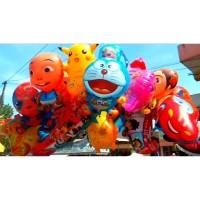 Kingdom Aneka pilihan variasi balon karakter plastik ukuran sedang