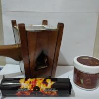 Paket tempat bakaran prapen kayu arang magic buhur AMR Lengkap