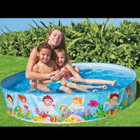 Kolam anak intex/kolam renang intex tanpa pompa 152cm 56451