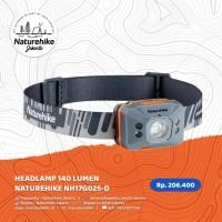 NATUREHIKE HEADLAMP 140 LUMEN NH17G025-D LAMPU SENTER KEPALA CAMPING - Kuning
