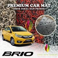 Karpet Mobil Premium HONDA Brio Full Bagasi 2 Warna