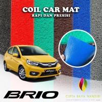 Karpet Mobil Premium HONDA Brio Full Bagasi 1 Warna