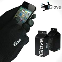 Sarung Tangan IGlove Touch Screen HP Android iPhone Motor Touch Screen - hitam polos