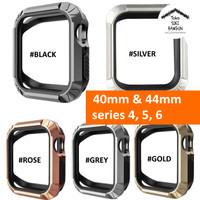 Bumper Case TOUGH ARMOR Rubber for Apple Watch 4 40mm 44mm 40 44 mm