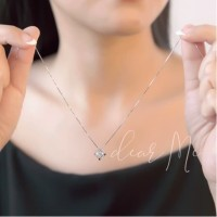 Dear Me - Carre Necklace (925 Sterling Silver with 18K Gold Plating)
