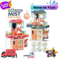 Mainan Anak Kitchen set 42pc Besar Set dapur masak masakan 42pc