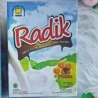susu kambing etawa bubuk radix original nasa rasa madu dan coklat - Honey