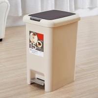 Sale Tempat Sampah Berpedal/Tong Sampah Injak 15 L - Cokelat