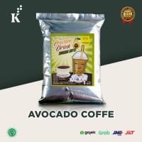 Bubuk Minuman Bubble Powder Drink Avocado Coffee ORIGINAL Javaland 1kg