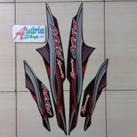 Stiker Striping Motor Yamaha Mio Sporty 2005 Hitam