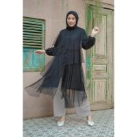 Tunik Muslim HijabChic Hawa Black