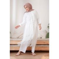 Tunik Muslim HijabChic Hawa White