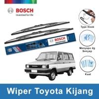 "Bosch Sepasang Wiper Kaca Mobil Toyota Kijang Super Advantage 16"" &16"""
