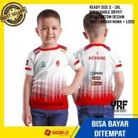 Baju jersey Gaming Game Anak Full Print AURA NESC ESPORT