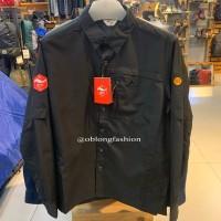 Eiger Kemeja Pria Gravel 20-X 28 Gunung Long Sleeve Shirt - Black