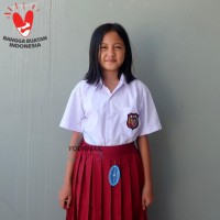 Seragam Baju SD Pendek Bahan TC Perempuan
