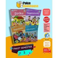 BEST SELLER PAKET BUKU TEMATIK SD KELAS 1 SEMESTER 1 K13 REV 2018