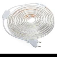 Lampu Led Strip Selang SMD 5050 10M 220v OUTDOOR 10 M Meter DEKORASI