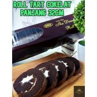 Bolu Gulung Coklat Besar kue Roll Tart untuk arisan lebaran dan natal