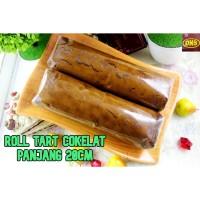Roll Tart Cokelat Kecil | Bolu Gulung Harum dan Lembut