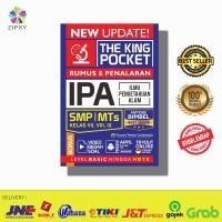 Buku New Update The King Pocket IPA SMP Kelas 7 8 9