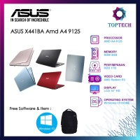Laptop Asus X441BA Amd A4 9125 4GB 1TB Radeon R3 W10