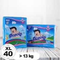 Popok Bayi Tipe Perekat (POPOKU) size XL isi 40pcs