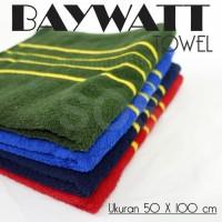 handuk mandi/handuk Baywatt uk 50 x 100 cm