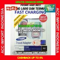 Fast Charging 2A Samsung Galaxy Original Charger Note 4 5 S6 7 Garansi