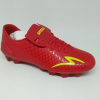 Sepatu bola specs original Accelerator Exocet merah new 2018