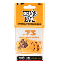 PICKS ERNIE BALL 9190 EVERLAST ORANGE 0.73MM