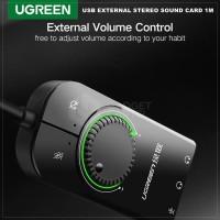 UGREEN 50599 USB SOUNDCARD EKSTERNAL SOUND CARD EXTERNAL AUDIO ADAPTER