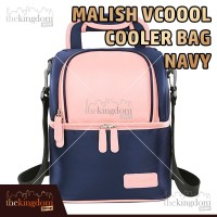 Malish V-coool Cooler Bag Blue Tas Penyimpan Asi Hot / Cold + Ice Gel