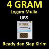 4 Gram Sertifikat UBS Logam Mulia LM Emas Batangan Bukan Antam MURAH