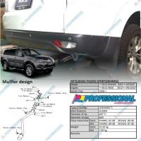 Aksesoris Muffler Exhaust Knalpot HKS LEGAMAX Ti Pajero Sport 09+
