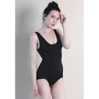 LLACES Clothing - Baju Renang Wanita - Angel Bathing Suit - Hitam
