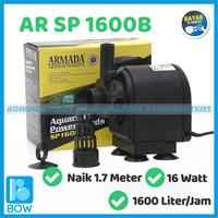Pompa Air Celup Aquarium Aquascape Akuarium ARMADA AR SP 1600 B 16 W