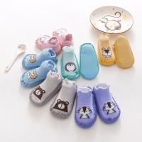 Sepatu Skidder/ Prewalker Bayi Anak Kaos Kaki ANTI SLIP ANIMAL cute