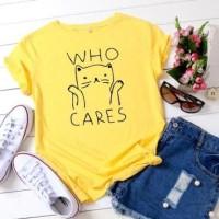 Kaos cewek lucu murah casual tshirt wanita remaja atasan remaja santai