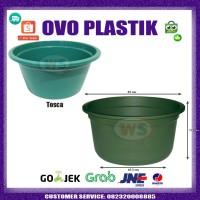 Baskom Plastik 65cm BESAR / Bak Plastik / Ember Plastik - SUSAN - Tosca