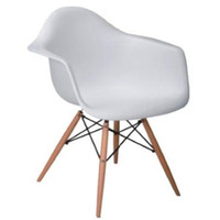 Kursi Raakel Atria Chair White - Putih