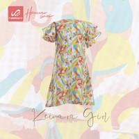 Rabbani - Baju Dress Anak Perempuan Keinara - peach, 5-6 tahun